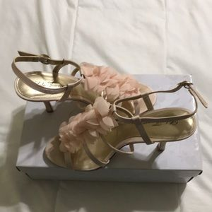Formal light pink shoes size 9!